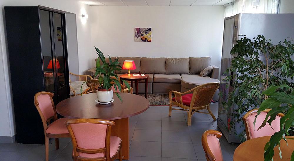 Salon de l'hôtel Le Grand Air